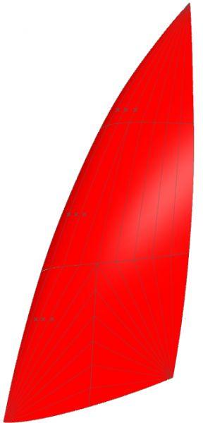 Goodall Design C2 21qm Spinnaker von Kangaroo Sails