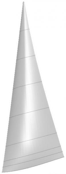 Goodall Design Viper F16 Fock von Kangaroo Sails