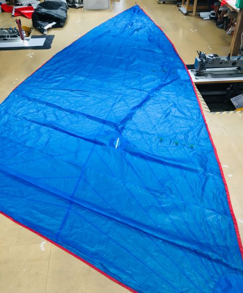 Kangaroo Sails F18 Spi 19qm Polyester blau