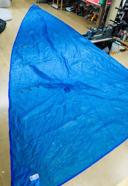 Kangaroo Sails,F18 Spi 21qm, Polyester blau