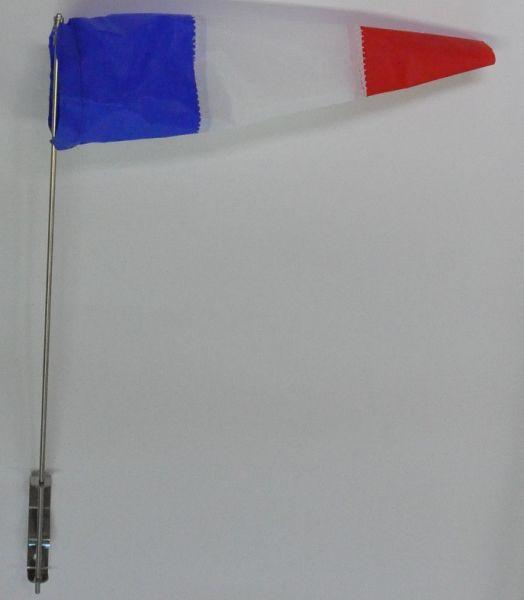 Flögel rot-weiß-blau 60mm